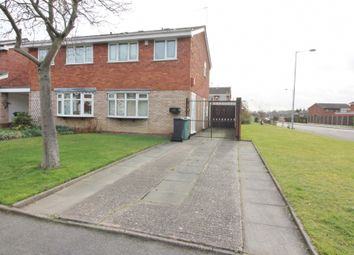 Thumbnail 3 bed semi-detached house for sale in Western Avenue, Walsall