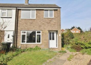 Thumbnail 3 bed end terrace house to rent in Burrwood Gardens, Ash Vale