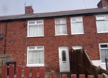 Thumbnail 3 bed terraced house for sale in Woodhorn Crescent, Newbiggin-By-The-Sea