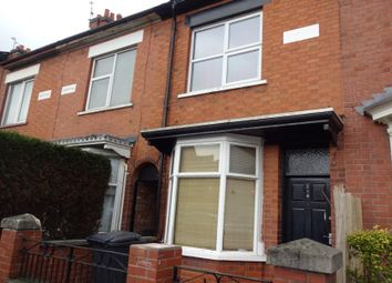 Thumbnail 3 bed terraced house for sale in Fosse Road North, Leicester