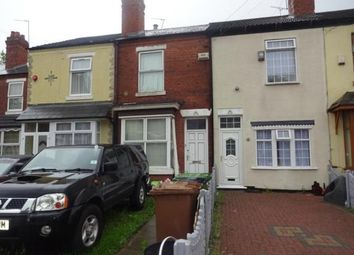 2 bed terraced house for sale in Essex Street, Walsall, West Midlands WS2