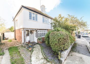 Thumbnail 3 bed semi-detached house for sale in Manor Road, Tankerton, Whitstable