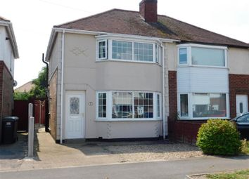 Thumbnail 2 bed semi-detached house for sale in Edward Crescent, Skegness