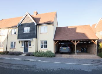 3 bed semi-detached house for sale in Elers Way, Thaxted, Dunmow CM6
