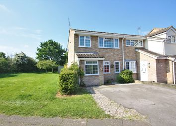 Thumbnail 3 bed end terrace house for sale in Lavender Court, Springfield, Chelmsford