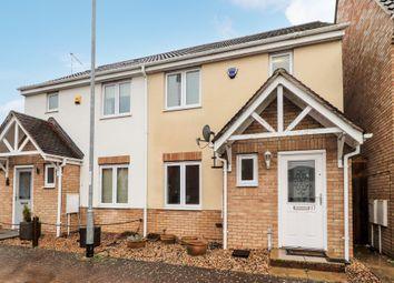 Thumbnail 3 bed semi-detached house for sale in Collingwood Drive, Longstanton, Cambridge