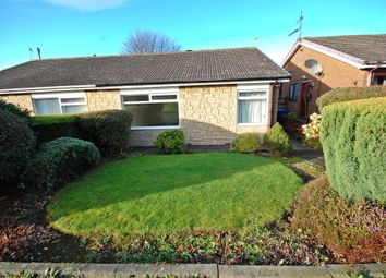 Thumbnail 2 bed semi-detached bungalow for sale in Norwich Road, Newton Hall, Durham