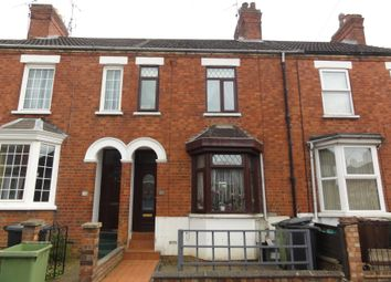 Thumbnail 3 bed terraced house to rent in Lister Road, Wellingborough