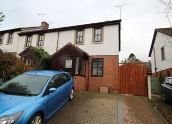 Thumbnail 2 bed end terrace house for sale in Beckside Gardens, Brampton, Cumbria