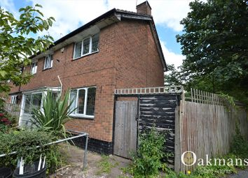 Thumbnail 3 bed end terrace house for sale in Beilby Road, Birmingham, West Midlands.