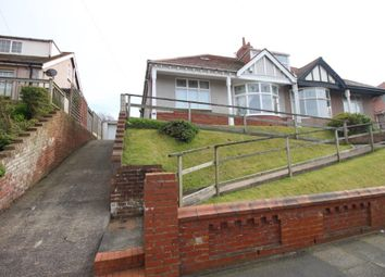 Thumbnail 4 bed semi-detached bungalow for sale in Beaufort Avenue, Bispham, Blackpool