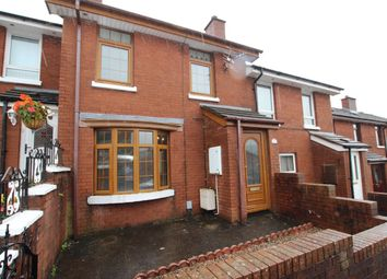 Thumbnail 2 bed terraced house to rent in Ligoniel Road, Ligoniel, Belfast
