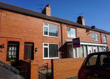 Thumbnail 2 bedroom terraced house for sale in Stanley Road, Wrexham