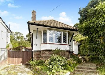 Thumbnail 3 bed bungalow for sale in Church Way, Sanderstead, South Croydon, .