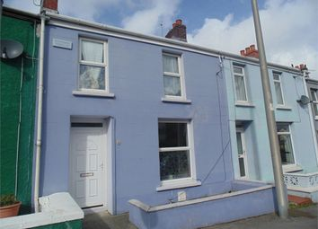 Thumbnail 3 bed terraced house for sale in 8 Milford Road, Haverfordwest, Pembrokeshire