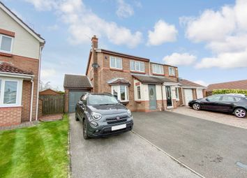 Thumbnail 3 bed semi-detached house for sale in Quinn Close, Peterlee