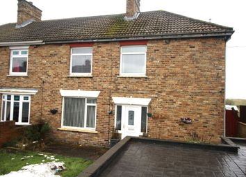Thumbnail 3 bed semi-detached house for sale in Dean Road, Ferryhill