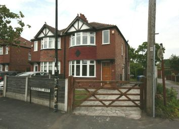 Thumbnail 2 bed semi-detached house to rent in Rossett Avenue, Timperley, Altrincham