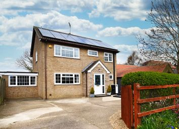 Thumbnail 4 bed detached house for sale in Main Street, Great Gidding, Cambridgeshire