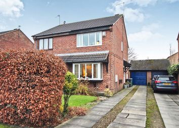 Thumbnail 2 bed semi-detached house for sale in Plane Tree Avenue, Leeds
