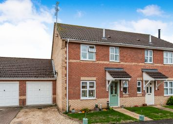 Thumbnail 3 bed semi-detached house for sale in Jubilee Road, Lakenheath, Brandon