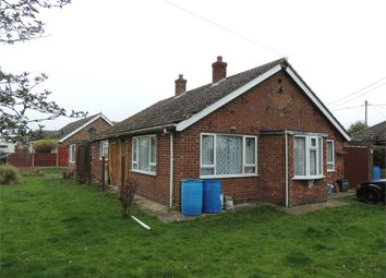 Thumbnail 3 bed detached bungalow for sale in Fen Road, Watlington, King's Lynn