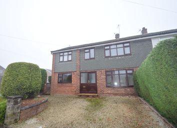 Thumbnail 6 bed semi-detached house to rent in Mentone Crescent, Edgmond, Newport