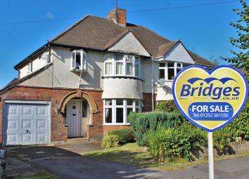 3 bed semi-detached house for sale in Brook Avenue, Farnham, Surrey GU9