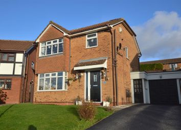 Thumbnail 3 bedroom detached house for sale in Woodhurst Close, Oakwood, Derby