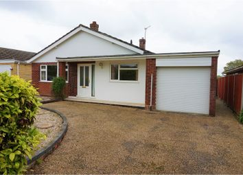 Thumbnail 3 bedroom detached bungalow for sale in Brick Kiln Road, Norwich