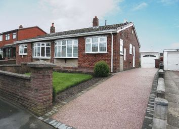 Thumbnail 2 bed semi-detached bungalow for sale in Glenwood Close, Longton, Stoke-On-Trent, Staffordshire