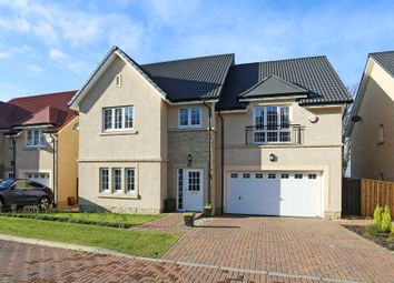 Thumbnail 5 bed detached house for sale in Whinstone Place, Ratho