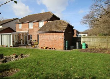 Thumbnail 3 bed detached house for sale in Doe Copse Way, New Milton