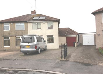 Thumbnail 3 bed semi-detached house for sale in Burley Crest, Bristol
