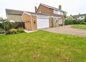 Thumbnail 4 bed detached house for sale in Common Lane, Hambleton, Selby