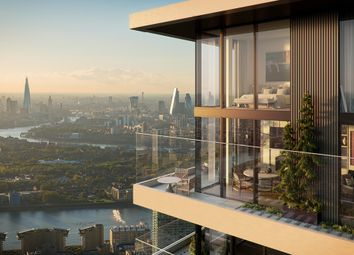 Thumbnail 1 bed flat for sale in Marsh Wall, Wardian London, Design Cube At Ballymore