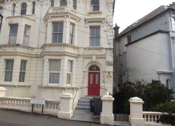 Thumbnail 1 bedroom flat to rent in Cornwallis Gardens, Hastings