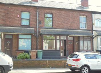 Thumbnail 3 bed terraced house to rent in Darlaston Road, Walsall