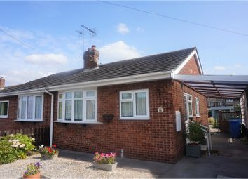 Thumbnail 2 bed semi-detached bungalow for sale in Station Road, Brough