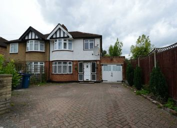 Thumbnail 4 bed semi-detached house to rent in Belsize Road, Harrow Weald, Harrow