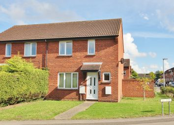 Thumbnail 2 bedroom semi-detached house for sale in Waveney Road, St. Ives, Huntingdon