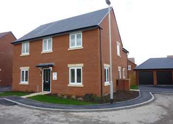 Thumbnail 5 bed detached house for sale in Hawthorn Grove, Sapcote, Leicester