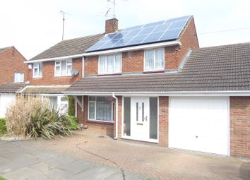 Thumbnail 3 bedroom semi-detached house for sale in Markham Crescent, Dunstable