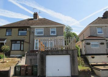 Thumbnail 2 bed semi-detached house to rent in Fernlea, Risca, Newport