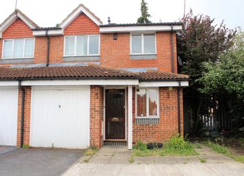Thumbnail 3 bed end terrace house to rent in Chiltern Court, Widmore Road, Hillingdon, Uxbridge