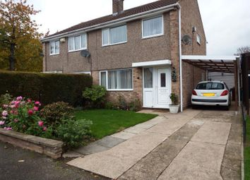 Thumbnail 3 bed semi-detached house to rent in Collins Close, Nottingham