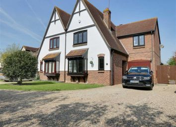 Thumbnail 4 bedroom semi-detached house for sale in Fitzwarren, Shoeburyness, Essex
