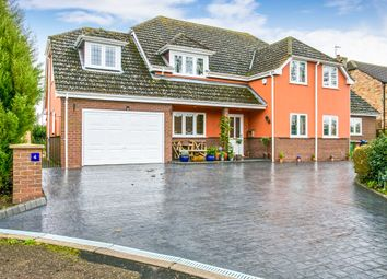 Thumbnail 5 bed detached house for sale in Maiden Stile Close, March