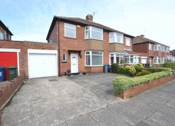 Thumbnail 3 bed semi-detached house for sale in Stanway Drive, High Heaton, Newcastle Upon Tyne