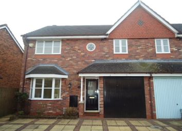 Thumbnail 3 bed property to rent in Beamish Close, Appleton, Warrington.